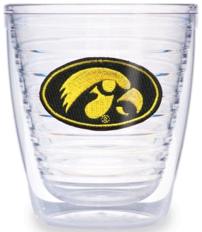 Iowa Hawkeyes 12 Ounce Tumbler Set