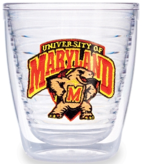 Maryland Terrapins 12 Ounce Tumbler Set