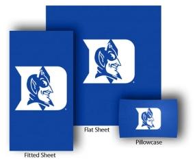 Duke Blue Devils Full-Queen Size Sheet Set