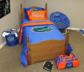Florida Gators Twin Size Bedding In A Bag
