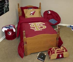 Florida State Seminoles Queen Size Bedding In A Bag