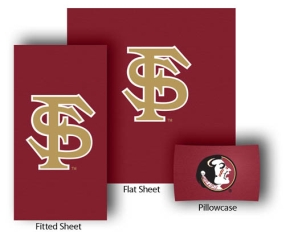 Florida State Seminoles Twin Size Sheet Set