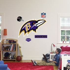 Baltimore Ravens Logo Fathead