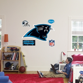 Carolina Panthers Logo Fathead