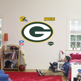 Green Bay Packers Logo Fathead