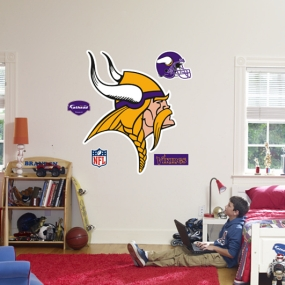Minnesota Vikings Logo Fathead
