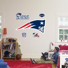 New England Patriots Logo Fathead