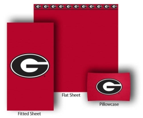 Georgia Bulldogs Full-Queen Size Sheet Set