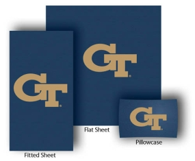 Georgia Tech Yellow Jackets Full-Queen Size Sheet Set