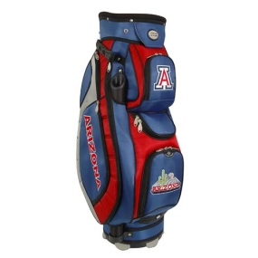 Arizona Wildcats Letterman's Club II Cooler Cart Golf Bag
