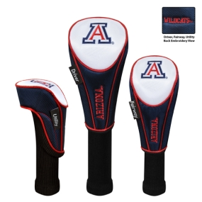 Arizona Wildcats Set of 3 Golf Club Headcovers