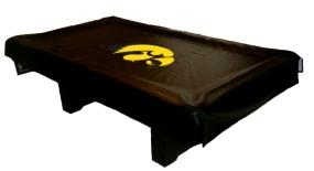Iowa Hawkeyes Billiard Table Cover