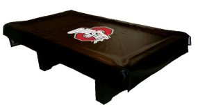 Ohio State Buckeyes Billiard Table Cover