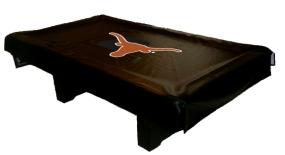 Texas Longhorns Billiard Table Cover