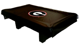 Georgia Bulldogs Billiard Table Cover