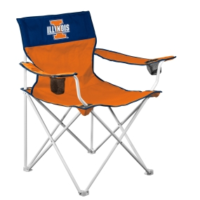 Illinois Fighting Illini Big Boy Tailgating Chair