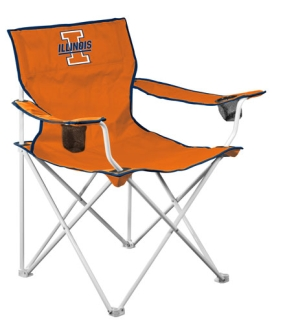 Illinois Fighting Illini Deluxe Chair