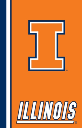 Illinois Fighting Illini Ultra Soft Blanket
