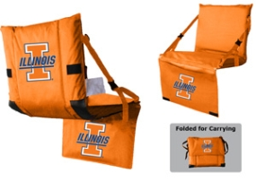 Illinois Fighting Illini Tri-Fold Stadium Seat