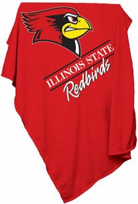 Illinois State Redbirds Sweatshirt Blanket