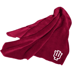 Indiana Hoosiers Fleece Throw Blanket