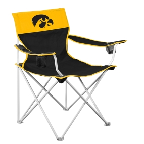 Iowa Hawkeyes Big Boy Tailgating Chair