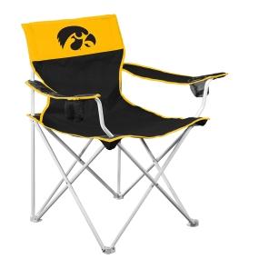 Iowa Hawkeyes Big Boy Tailgating Chair