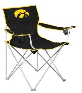 Iowa Hawkeyes Deluxe Chair