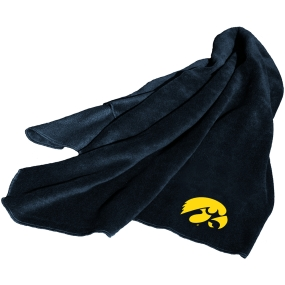 Iowa Hawkeyes Fleece Throw Blanket
