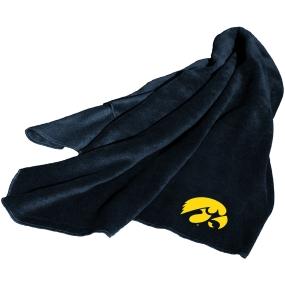 Iowa Hawkeyes Fleece Throw Blanket
