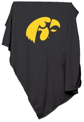Iowa Hawkeyes Sweatshirt Blanket