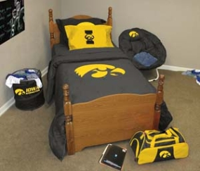 Iowa Hawkeyes Twin Size Bedding In A Bag