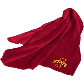Iowa State Cyclones Fleece Throw Blanket