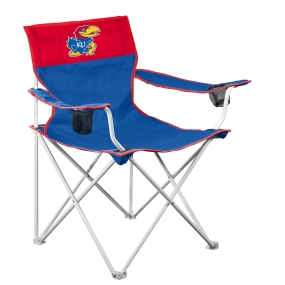 Kansas Jayhawks Big Boy Tailgating Chair