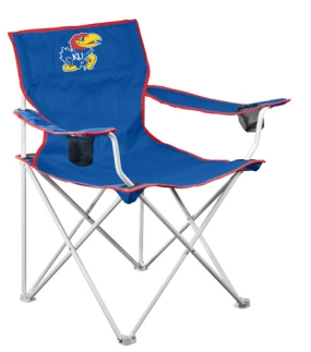 Kansas Jayhawks Deluxe Chair