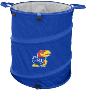 Kansas Jayhawks Trash Can Cooler