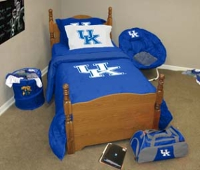 Kentucky Wildcats Twin Size Bedding In A Bag