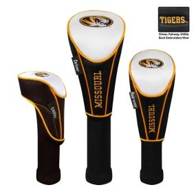 Missouri Tigers Set of 3 Golf Club Headcovers