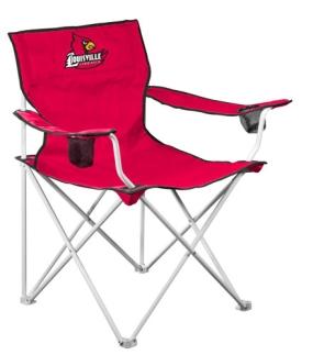 Louisville Cardinals Deluxe Chair