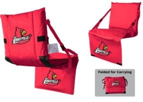 Louisville Cardinals Tri-Fold Stadium Seat