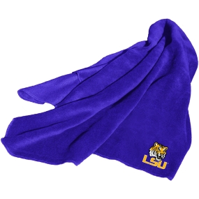 LSU Tigers Fleece Throw Blanket