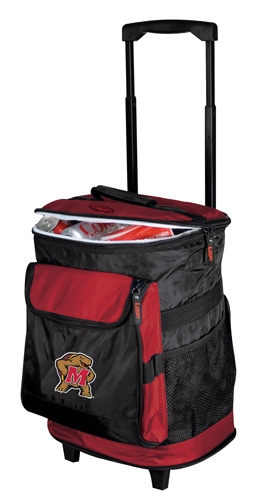 Maryland Terrapins Rolling Cooler