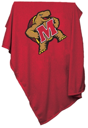Maryland Terrapins Sweatshirt Blanket