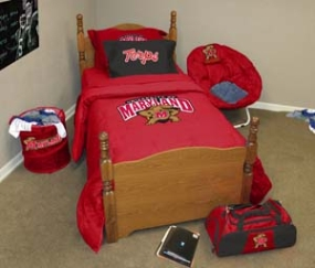Maryland Terrapins Queen Size Bedding In A Bag