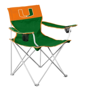 Miami Hurricanes Big Boy Tailgating Chair