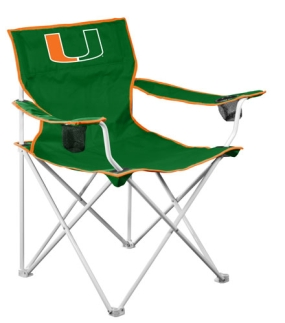 Miami Hurricanes Deluxe Chair