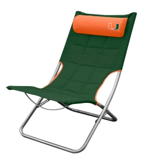 Miami Hurricanes Lounger Chair