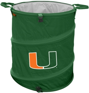 Miami Hurricanes Trash Can Cooler