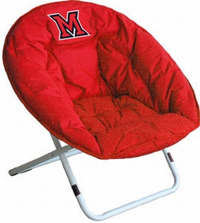 Miami (OH) Redhawks Sphere Chair