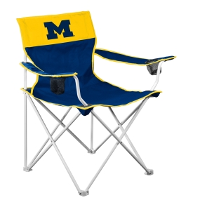 Michigan Wolverines Big Boy Tailgating Chair